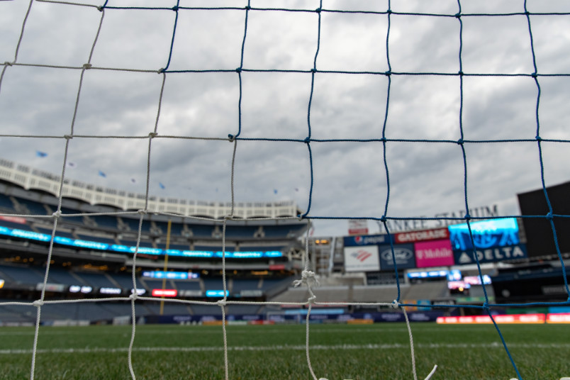 yankee stadium setup for nycfc