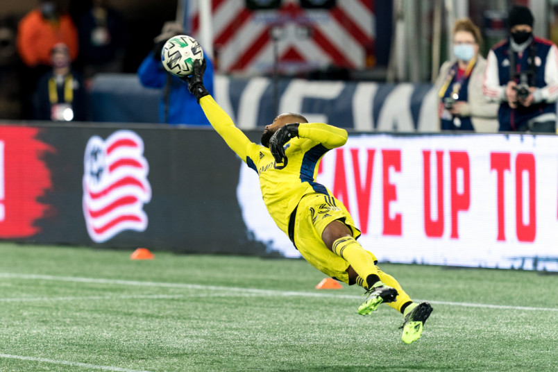 clement diop making a save for montreal