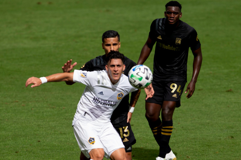 la galaxy player cristian pavon
