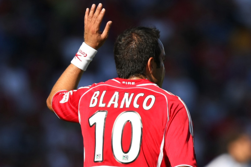 cuauhtemoc blanco with the chicago fire in 2006