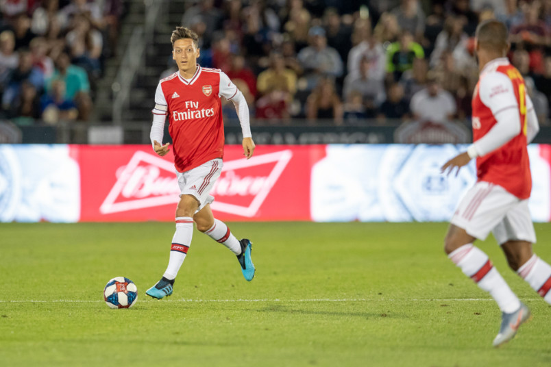 mesut ozil against colorado in 2019