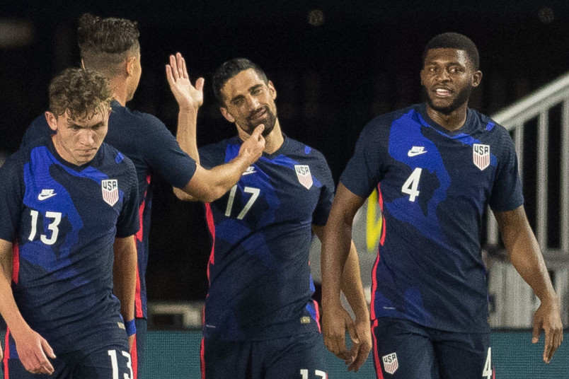usmnt players following the december friendly win over el salvador