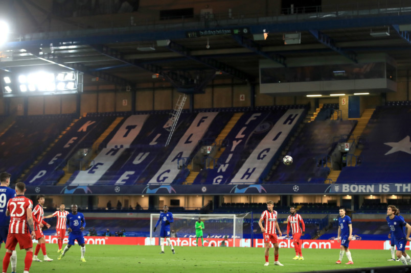 stamford bridge during chelsea vs atletico