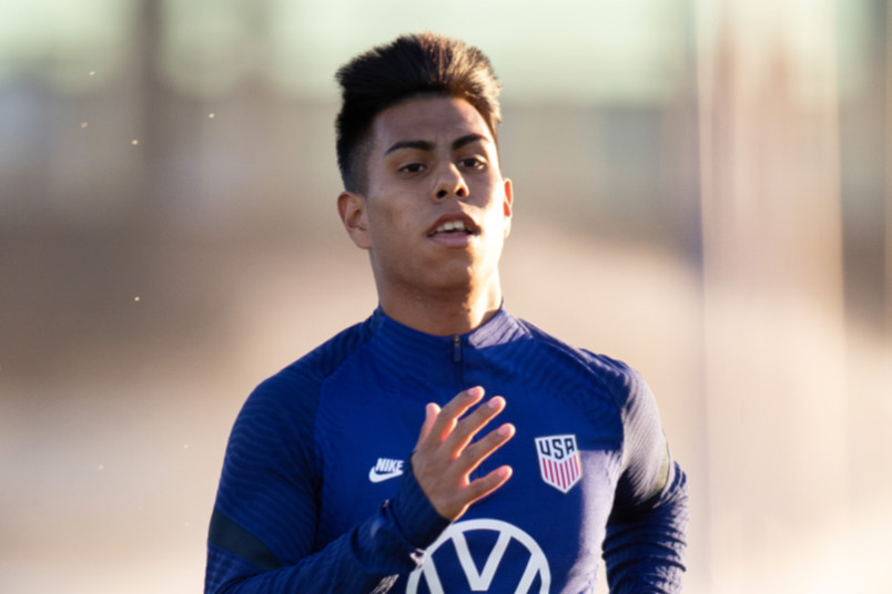 efrain alvarez december 2020 usmnt camp