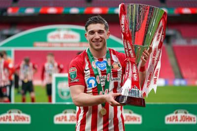 Gooch scores the winner in Football League Trophy final