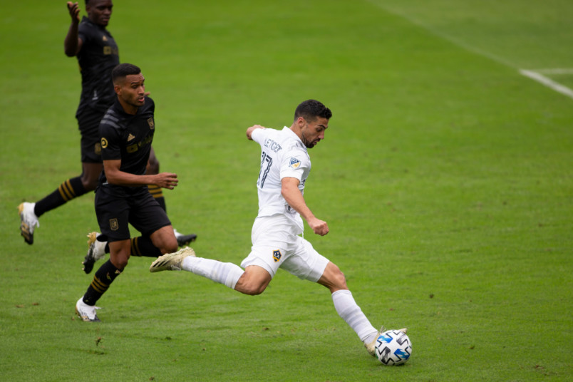 sebastian lletget la galaxy vs lafc october 2020