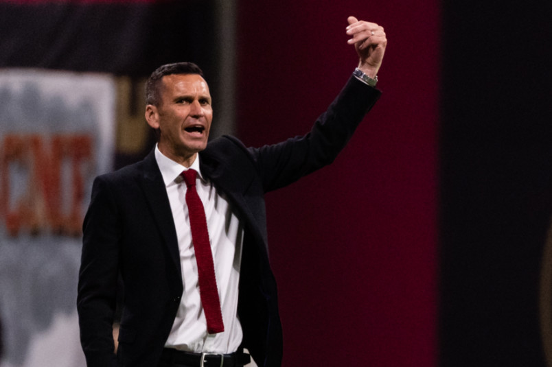 atlanta united interim coach stephen glass in 2020
