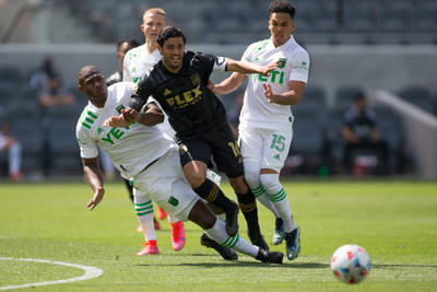 LAFC without and with Carlos Vela