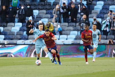 Real Salt Lake was the club making moves at the MLS transfer deadline