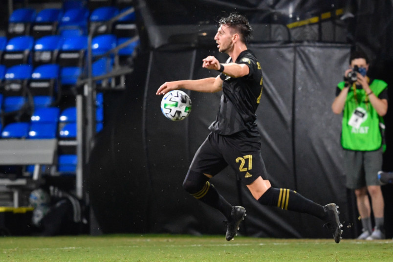 brian rodroguez during mls is back in 2020