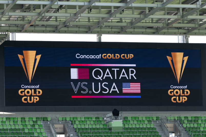 q2 stadium scoreboard