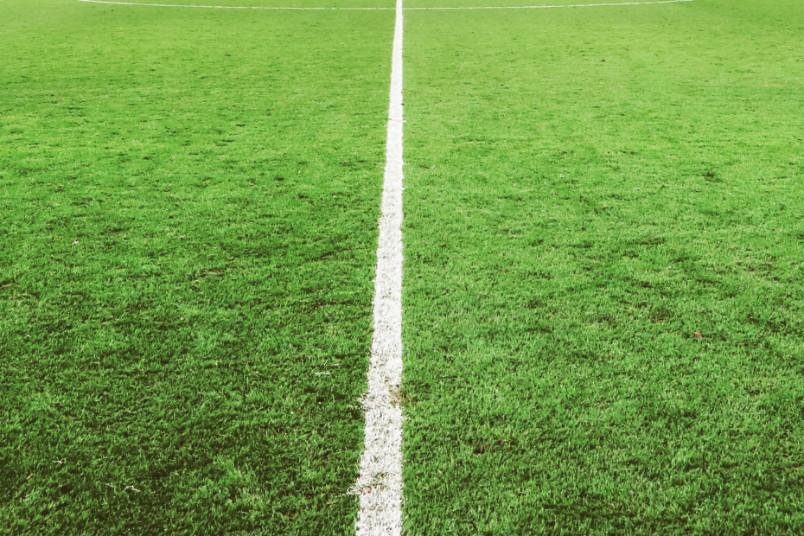 soccer field center line