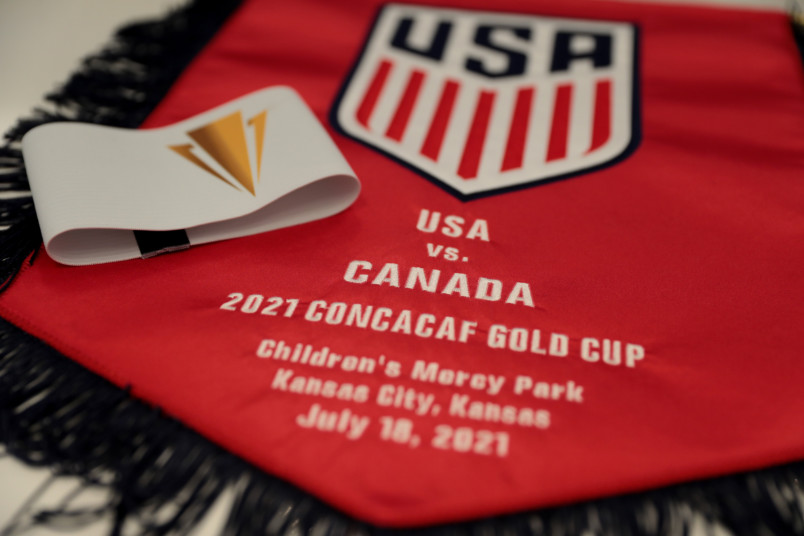 usmnt banner for canada gold cup game