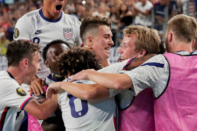 The USMNT moves forward at the Gold Cup