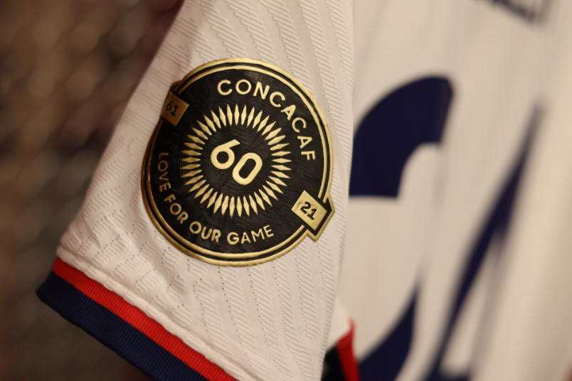 concacaf gold cup sleeve patch