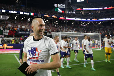Berhalter shows some personality, and so does the USMNT