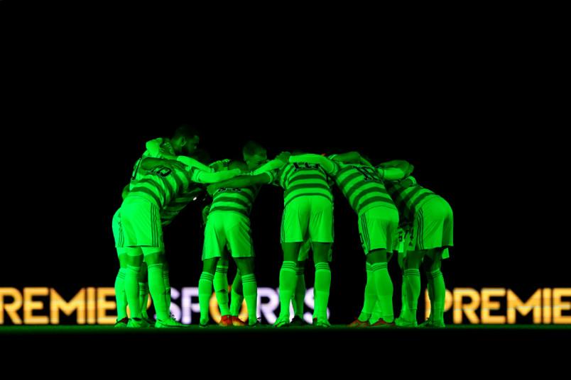 celtic in a huddle on september 23 2021