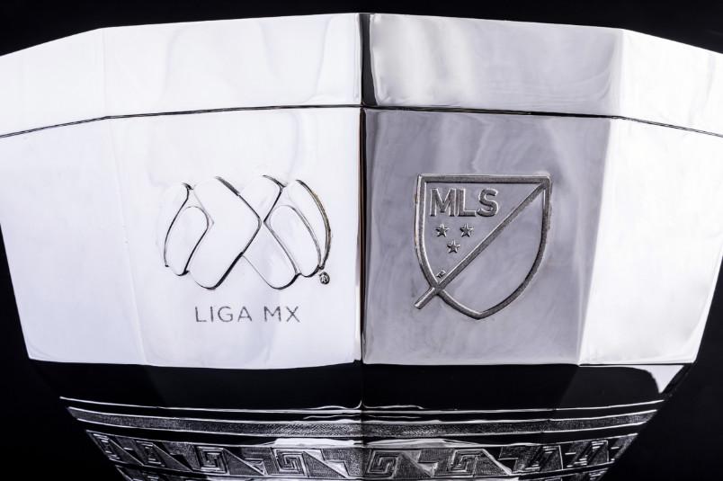 leagues cup trophy logos