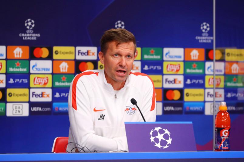 rb leipzig coach jesse marsch press conference september 28 2021