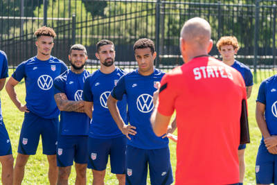 The USMNT gets a chance to address issues