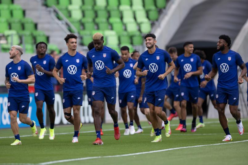 usmnt training at q2 stadium