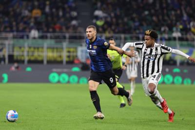 Juventus draw at Inter Milan, goal for Christian Ramirez