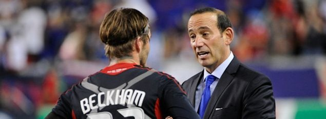 don garber, david beckham, mls, major league soccer