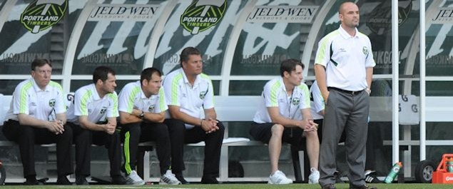 portland timbers bench, mls, major league soccer