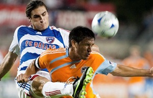 brian ching, george john, fc dallas, houston dynamo