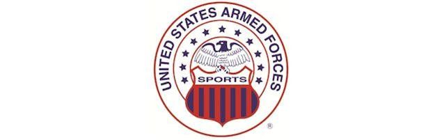 united states armed forces sports, logo