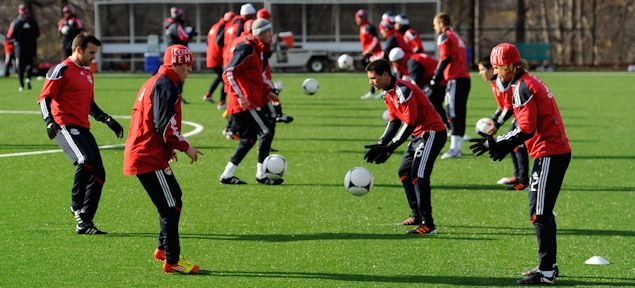 new york red bulls training