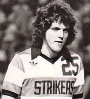 NASL and MISL alum Guy Newman, during his time with the Fort Lauderdale Strikers.  Photo courtesy of Guy Newman.