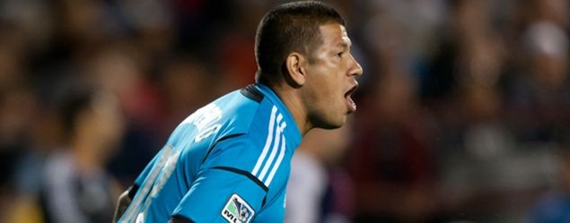 RSL goalkeeper Nick Rimando.  Credit: Michael Burns - ISIPhotos.com