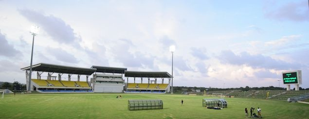 Sir Vivian Richards Stadium.  Credit: John Todd - ISIPhotos.com
