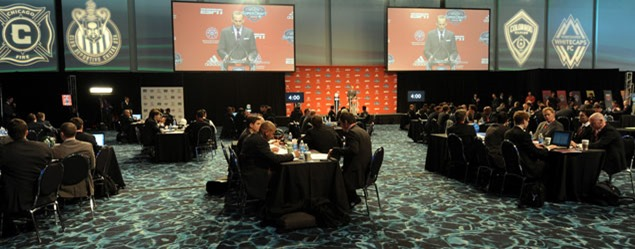 Club-based academy systems were supposed to lessen the importance of the MLS SuperDraft, yet the League admits identification and development of youth players remains a crucial issue.  Credit: Bill Barrett - ISIPhotos.com